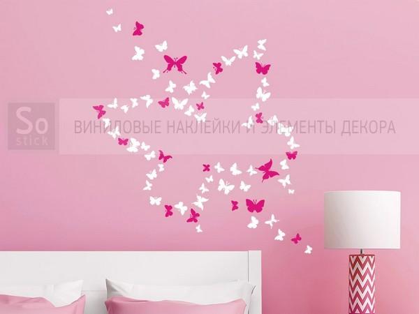 Бабочка из бабочек