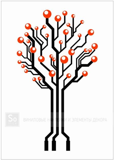 Микросхемное дерево