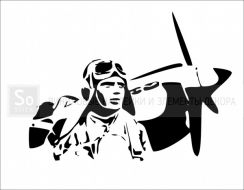 9 мая - Летчик и самолет
